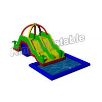 Quality Large Inflatable Water Pool With Slide For Holiday Event / Carnival for sale