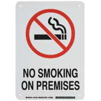 China Commercial POP Acrylic Sign Board , Company Printable No Smoking Signs on sale