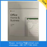 Quality With DVD Microsoft Home And Business 2019 Retail Box Package Office 2019 HB Computer for sale