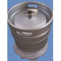 Quality Silver Color Euro Standard Half Barrel Keg 50L , 1.5 and 2mm Thickness for sale