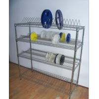 Quality PCB Material SMT Reel Shelving ,ESD Reel Storage Rack With Casters Available for sale