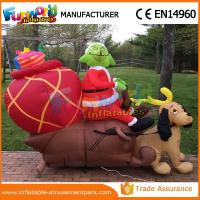 giant waterproof custom inflatables christmas replica inflatable grinch with