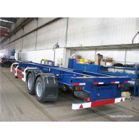 multi axle trailer truck 40 tons container truck chassis