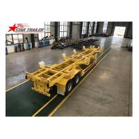 Quality 65T 40 Ft Semi Trailer Folding Hydraulic Type For Transporting Heavy Duty Equipment for sale