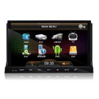 Quality Double DIN Android 2.3 Car PC , Universal Indash 2 DIN Touch Screen Monitor Car DVD DV  for sale