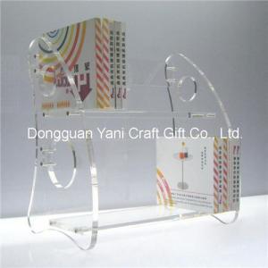 China Acrylic book display stand on sale