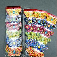 Quality Butterfly Compressed Hard Candy Beautiful Butterfly Shaped 24 Months Shelf Time for sale