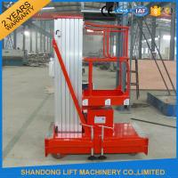 Quality Mobile Hydraulic Aerial Work Platform Lift With High Strength Aluminum Alloy Material for sale