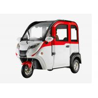 Quality Smart 1200 W Mini Electric Car , 3 Wheels Adjustable Seat Cabin Electric Powered Cars for sale