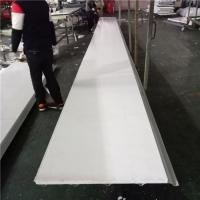 Quality 0.5mm PVC EPS sandwich waterproof roof panel for fast assemble buildings for sale