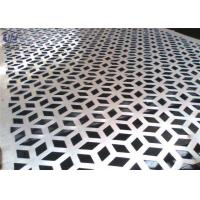 Quality Decorative Perforated Metal Mesh Screen Plain Weave 1.22x2.44m Size for sale