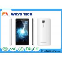 China WL1 MT6582 5.5 Inch Android Phone , 5.5 Inches Android Phones 13Mp Dual Sim Wifi 3g White on sale