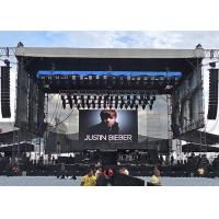 Buy cheap Indoor stage rental led display super thin p3.91 outdoor led video wall 64x64 from wholesalers