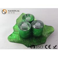 Buy Set Of Three Candle Holders , Pretty Tea Light Holders Colorful at wholesale prices