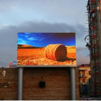 Quality P4mm Outdoor Advertising Led Display Full Color 6000cd Brightness 2 Years Warranty for sale