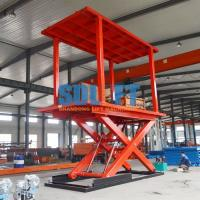 Quality Home Hydraulic Vehicle Lift Smart Parking Underground Car Lifts For Small Garages for sale