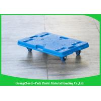 Quality 150KG 4 Wheel Cart Dolly  For Plastic Crate , Recyclable Heavy Duty Moving Dolly for sale