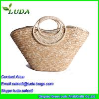 Quality  Designer Straw Beach Bag wheat straw bags for sale