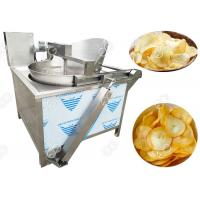 Quality Batch Electric & Gas Cassava Chips Frying Machine In High Efficiency for sale