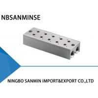 Quality ISO Certification Pneumatic Solenoid Valve Parts Manifold Base One Year Guarantee for sale