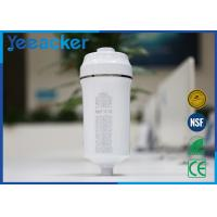 China Vitamin C Bath Activated Carbon Shower Water Filter Size 86 mm x 86 mm x 210 mm on sale