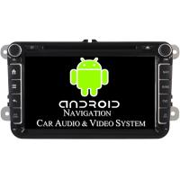 China 1024 X 600 Pixel Volkswagen DVD GPS Navigation VW Golf Car Stereo 2003 - 2012 on sale