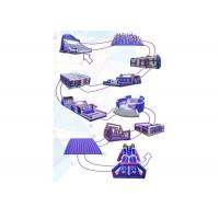 Buy cheap Outdoor 5k Inflatable Run Obstacles For Adults, Event Giant Insane Inflatable 5k from wholesalers