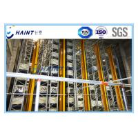 Quality Steel Automated Storage Retrieval System , Automated Warehouse System Heavy Duty for sale