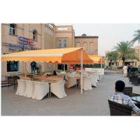Quality Coffee Shop Awning You Can Use Remoto Control Or Handle Extend and Shrink , Garden Awnings for sale