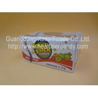 Quality Children Fun Fruit CC Stick Candy With Nice Tattoo Sour Powder 11 G * 40 Pcs for sale