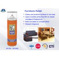Quality Household Care Highly Efficient Furniture Polish Aerosol Can Anti-UV and Eco-friendly for sale