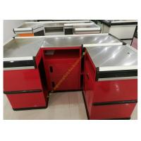 Buy cheap Fashion Metal Cash Counter Reception Desk Furniture Mirror Polished from wholesalers