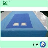 Quality Femoral angiography drape with pouches Surgical medical drape Disposable sterile drape for sale