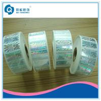China Roll Hologram Labels , Custom Hologram Stickers , Anti-fake 3d Hologram Roll Label on sale