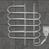 Quality CUSTOMIZED   80w Stainless Steel Wall Mounted Electric Heated  Towel rail For washroom for sale