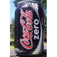 Quality Life-Sized Coca cola PVC Inflatable Can / Tin  for Advertising for sale