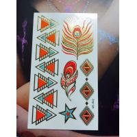 Quality New Tattoo flash temporary tattoo shining temporary tattoo for sale