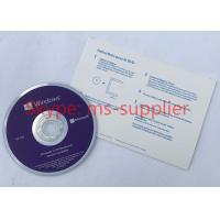 Quality Microsoft Win 10 Pro OEM French Langauge 64 Bit DVD with Product OEM Key Card Activation Online for sale