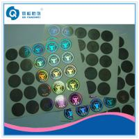 Quality Aniti-fake 2D / 3D Custom Hologram Stickers , Laser Holographic Die Cut Labels for sale
