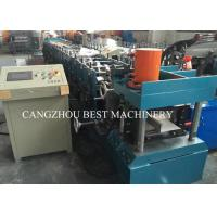 80-300 Mm Automatic C Z Purlin Roll Forming Machine PLC Control System