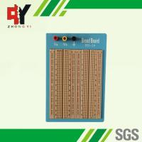 Quality Brown Solderless Circuit Board , Circuit Bread Board With Blue Plate for sale