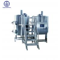 China 500L / 50bbl Alcohol Brewpub Equipment For Restaurant Pub Brewhouse Alcohol on sale