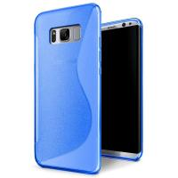 Quality S - Line Opaque Rubber Soft TPU Matte Custom Cell Phone Covers For Samsung S8 for sale