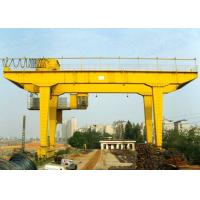 Quality Rail Mounted Double Girder Gantry Crane Truss Type 40 - 500T Lifting Capacity for sale