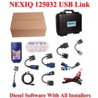 Quality XTruck USB Link 125032 Heavy Duty Vehicle Interface Truck Diagnosis Software with All Inst for sale