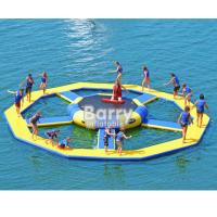 Buy cheap Bouncer Water Park Inflatable Water Toys / Inflatable Trampoline from wholesalers