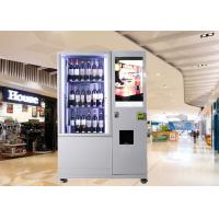 Quality Bottles / Cans / Snacks Customed Mini Mart Vending Machine with Network LCD Advertising Display for sale