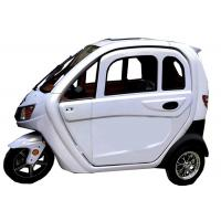Quality Aluminium Wheel 60V 1200W Electric Passenger Tricycle for sale