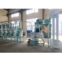 Quality 20 Ton/D Mini Corn Maize Flour Mill Machine maize milling and packaging plant for sale