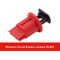 Quality Nylon Material Compact Pin Out Wide Small Safety Circuit Breaker Lockout for sale